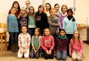 Gruppenbild Mädchentreff 2